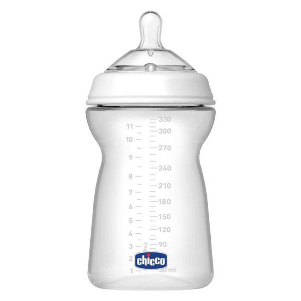 شیشه شیر چیکو مدل نچرال فیلینگ 330 میل