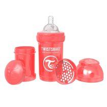 شیشه شیر آنتی کولیک تویست شیک 180 میل قرمز Twistshake